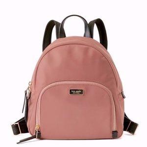 Kate Spade   Pink Nylon Backpack Medium NWT